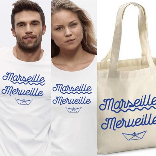 MARSEILLE MERVEILLE MARQUE IMPRESSION PEPPER D