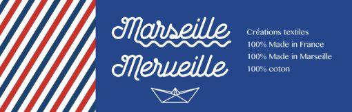 MARSEILLE MERVEILLE MARQUE TEXTILE PEPPER D